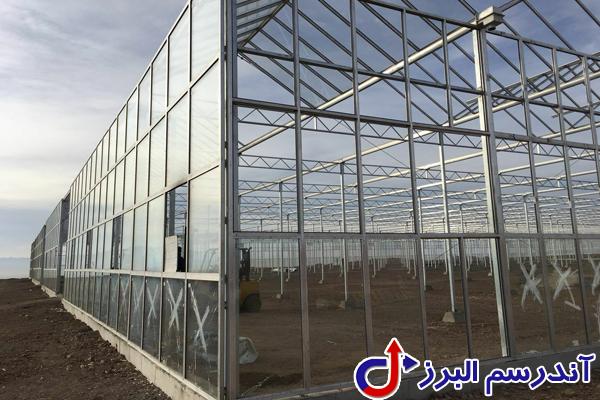 تجهیزات گلخانه -راه اندازی سالن گلخانه- شرکت آندرسم البرز