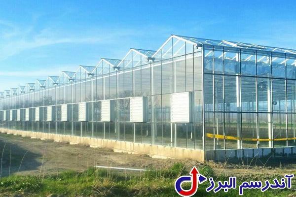 تجهیزات گلخانه -راه اندازی گلخانه- شرکت آندرسم البرز