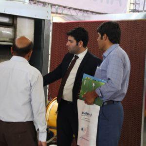 دیدار از غرفه آندرسم البرز در نمایشگاه